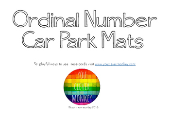 Ordinal Number Car Park Mats