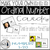 Ordinal Number Cards: Created by the Class!