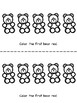 Ordinal Number Emergent Reader: Counting Bears