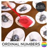 Ordinal Number Fly Swat Card Game