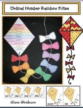 Ordinal Number Kite Activities and Craft
