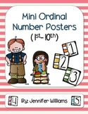 Ordinal Number Mini Posters