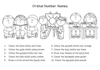 Ordinal Number Names