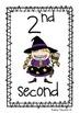 Ordinal Number Posters 1 - 20