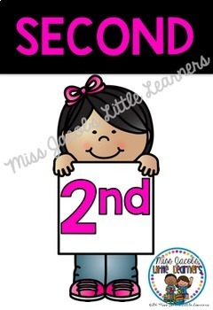Ordinal Number Posters {1st - 20th}