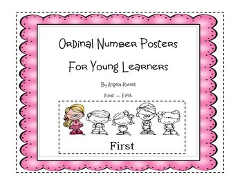 Ordinal Number Posters For Young Learners~ First-Fifth