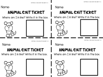 Ordinal Number Puzzles- Includes 5 Puzzles and Exit Tickets