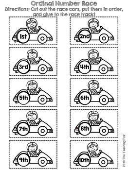 Ordinal Number Race