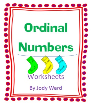 Ordinal Number Socks 1-20