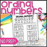 Ordinal Number Worksheets