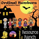 Ordinal Numbers Activity for Halloween