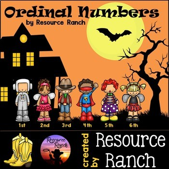 Halloween Math - Ordinal Numbers