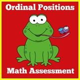 Ordinal Numbers | Preschool Kindergarten 1st Grade | Activity