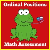 Ordinal Numbers Assessment Game