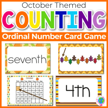 """Ordinal Numbers: 1st-10th """"Slap-It!"""" card game math center"""