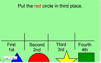 Ordinal Numbers 1st-4th