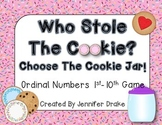 Ordinal Numbers 1st to 10th  **Cookie Jar Version**  Fun Engaging Game!
