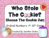 Ordinal Numbers 1st to 10th  **Cookie Jar Version**  Fun Engaging Game!