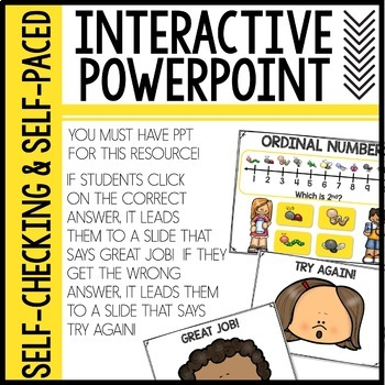 Ordinal Numbers Interactive PPT