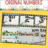 Ordinal Numbers  Anchor Charts and Matching Game