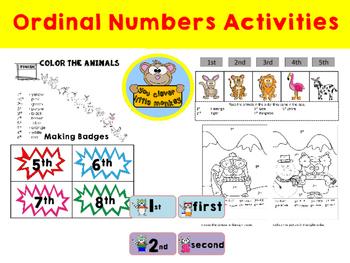 Ordinal Numbers Activities - A Fun Way