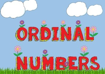 Ordinal Numbers Activity Mats
