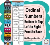 Ordinal Numbers Storied House & More for Bottom/Top,Left/Right,Front /Back