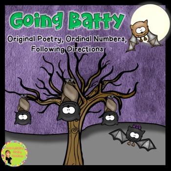 Bats Poem, Ordinal Numbers