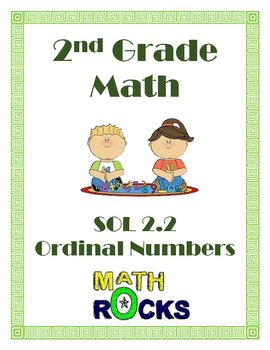 Ordinal Numbers Chart and Activity