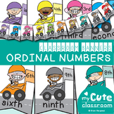 Ordinal Numbers Classroom Banner