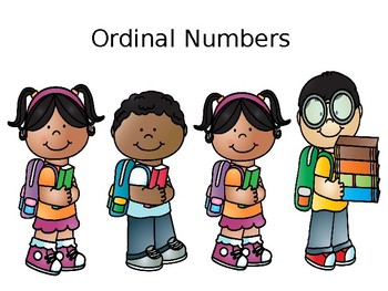 Ordinal Numbers Color Version PP