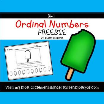 FREE DOWNLOAD : Ordinal Numbers