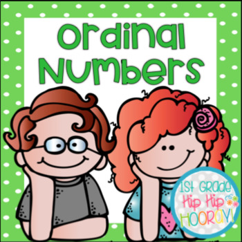 Ordinal Numbers...Focus Chart, Tools, Games and Activities