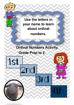 Ordinal Numbers Lesson (revised)