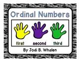 Ordinal Numbers Pack