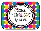 Ordinal Numbers Posters