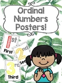 Ordinal Numbers Posters 1st - 30th