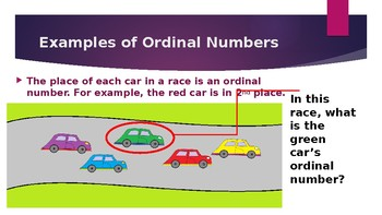 Ordinal Numbers PowerPoint