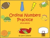 Ordinal Numbers Practice (first-tenth) (Set 1)