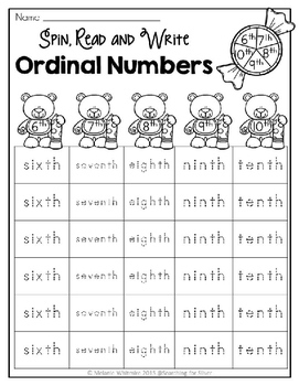ordinal numbers printables and activities by searching for silver. Black Bedroom Furniture Sets. Home Design Ideas