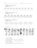 Ordinal Numbers Quiz - Grade 1 French Immersion