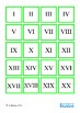 Ordinal Numbers, Roman Numerals, Tally Mark Math Memory Pairs, Autism, Sped
