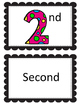 Ordinal Numbers Set 1-10