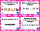 Ordinal Numbers Task Cards (1st-20th)