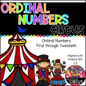 Ordinal Numbers (Virginia SOL 2.3)