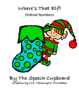 Ordinal Numbers - Where's that Elf?