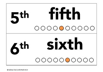 Numbers that Show Positions