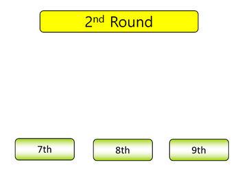 Ordinal Numbers Word Lotto - Kindergarten Activity - Grades K-1 - Google Drive