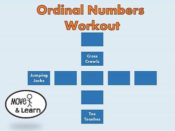 Ordinal Numbers Workout