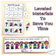 Ordinal Numbers and Orientation Words (Special Education Math Unit)